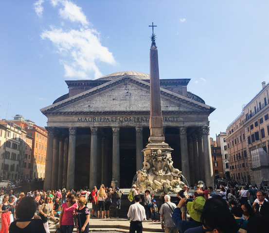 The Pantheon Exterior