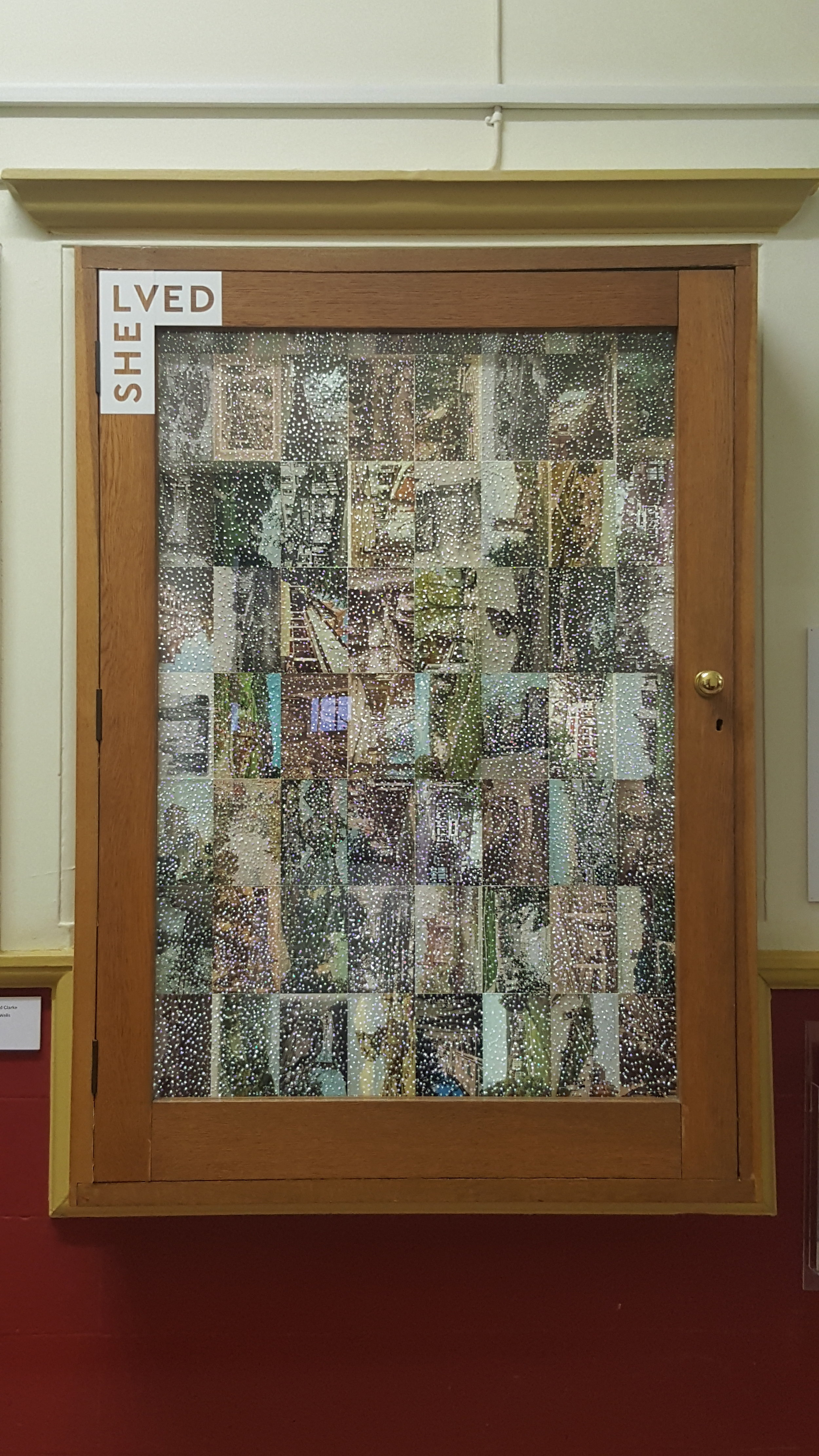 Inspired by pin prick art in the museum collection - using postcards from Tunbridge Wells.