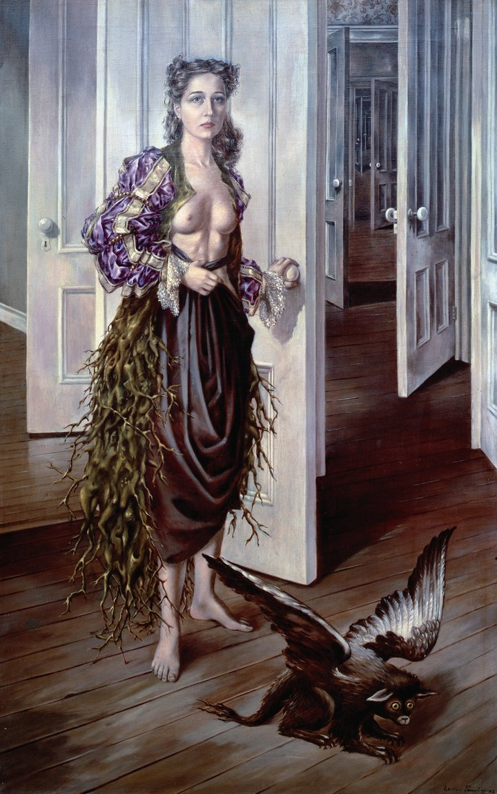 Dorothea Tanning  Birthday  1942. Philadelphia Museum of Art.
