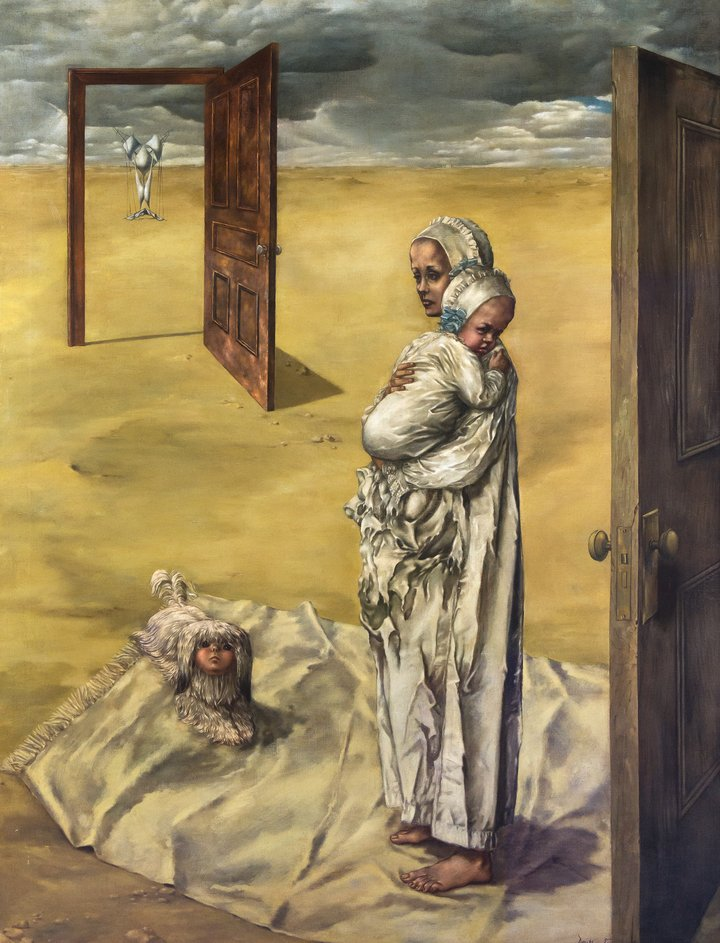 Dorothea Tanning  Maternity  1946 - 47 Private Collection