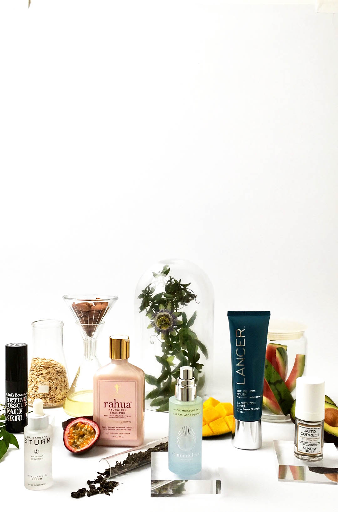 Behind the scenes: a quick snap on set with  Space NK