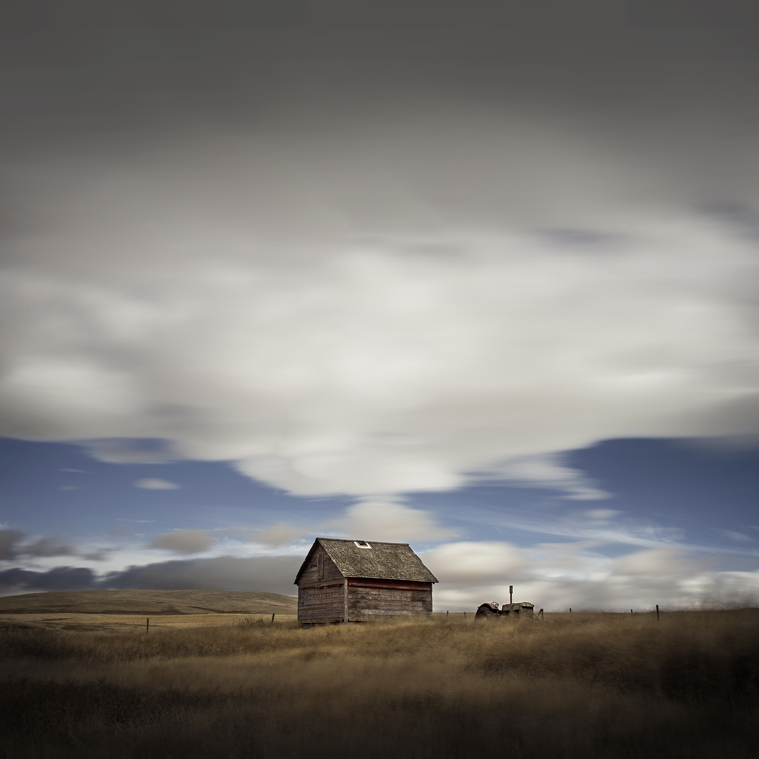 Little House and Tractor (2014)