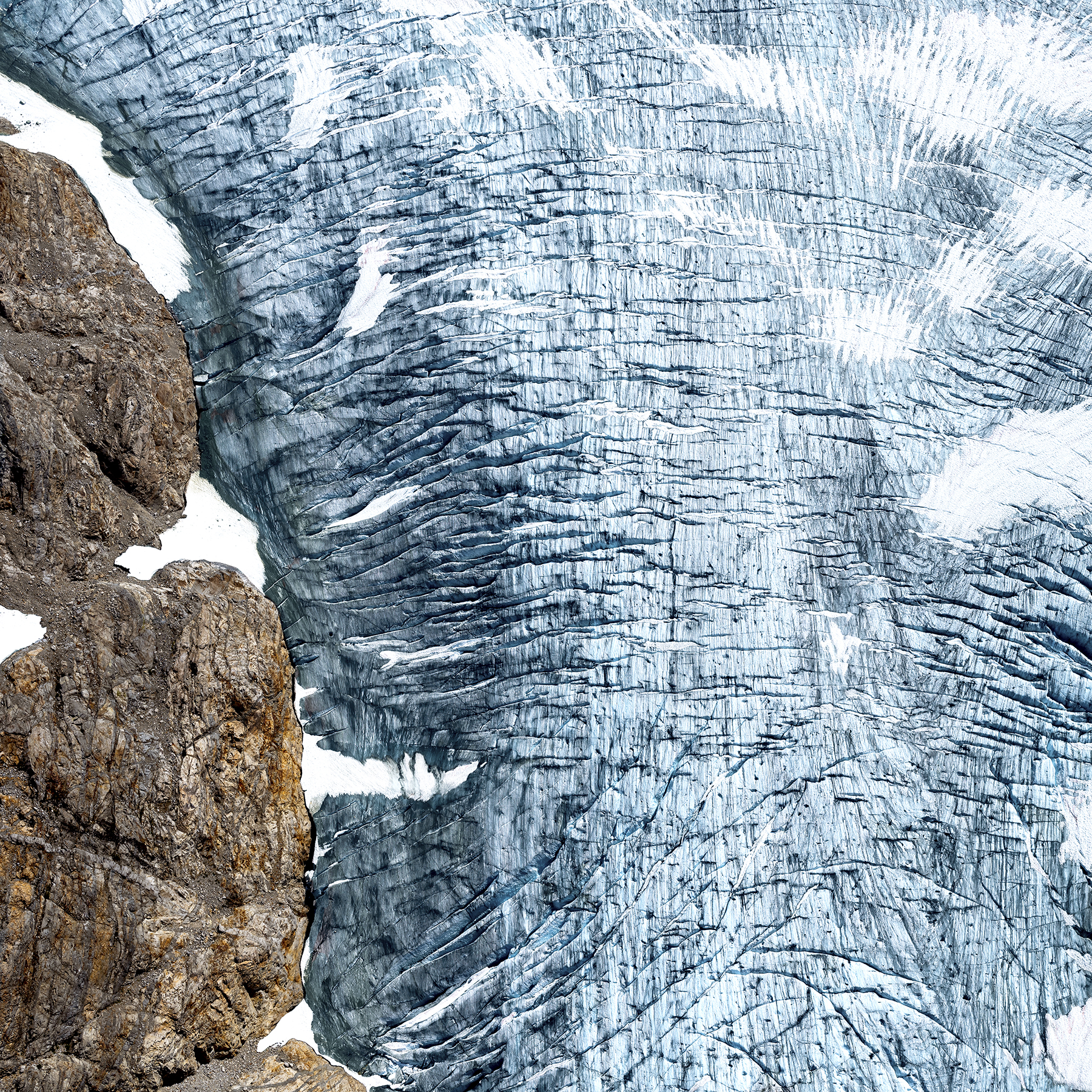 Icefield Study #21 | Mammoth (2018)