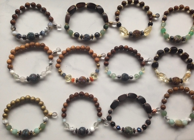 Some examples of bracelet styles.