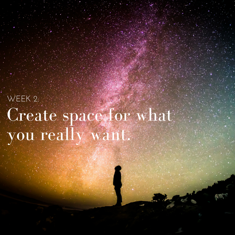 Click for the meditation on Creating Space