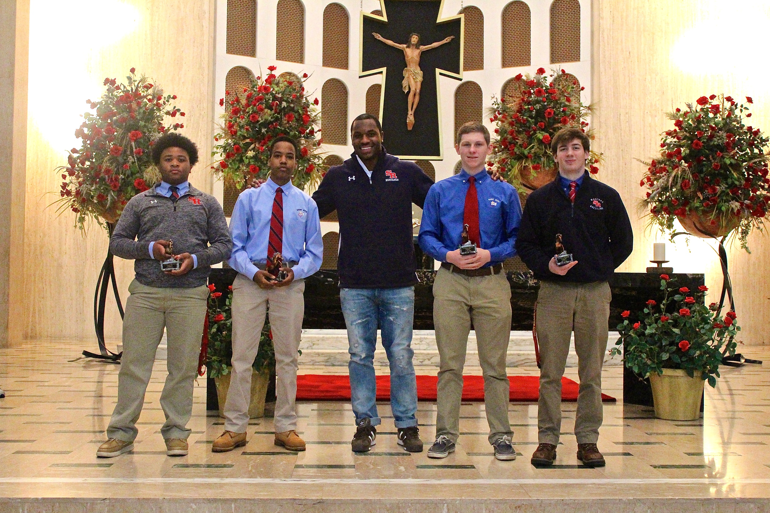 Former New England Patriot Darius Fleming '08 and the March 2016 Mustangs of the Month