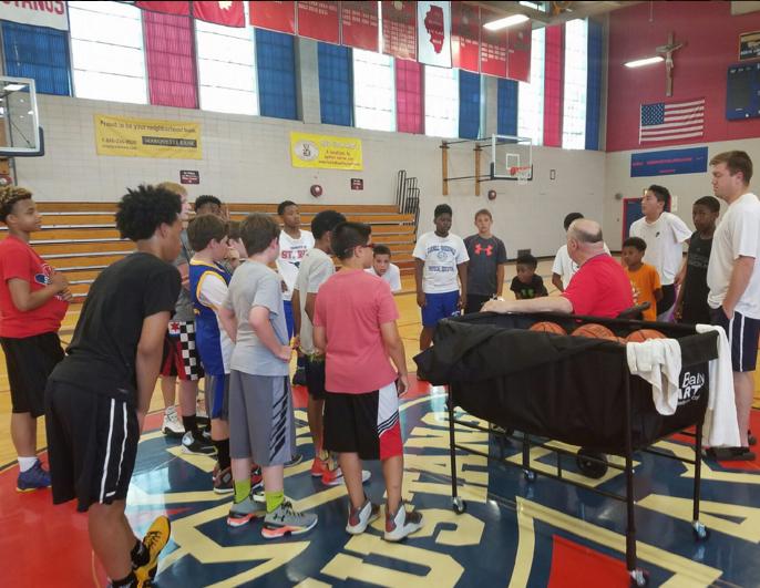 St. Rita Basketball Camp