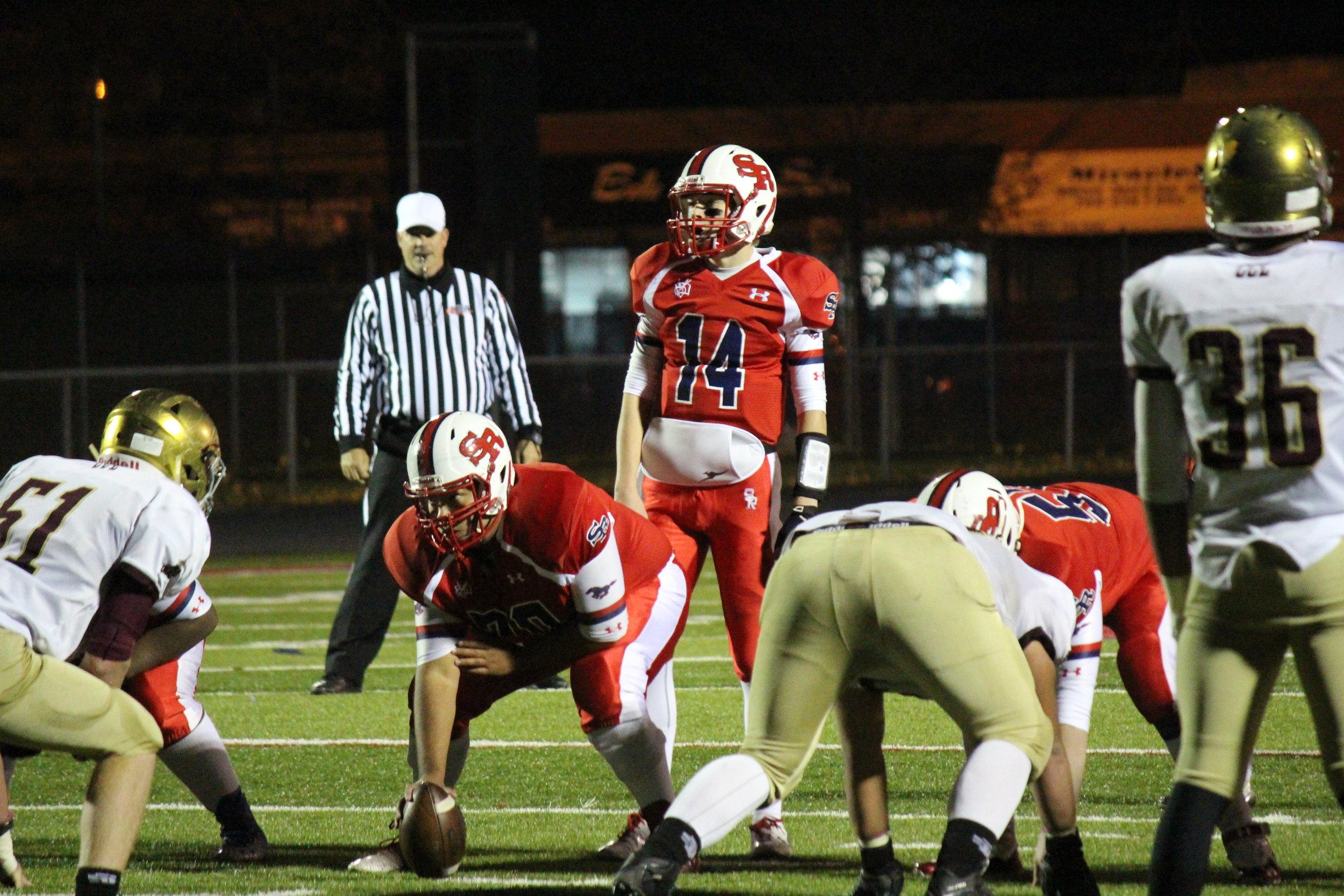 Senior Quarterback Keegan O'Hara (14)