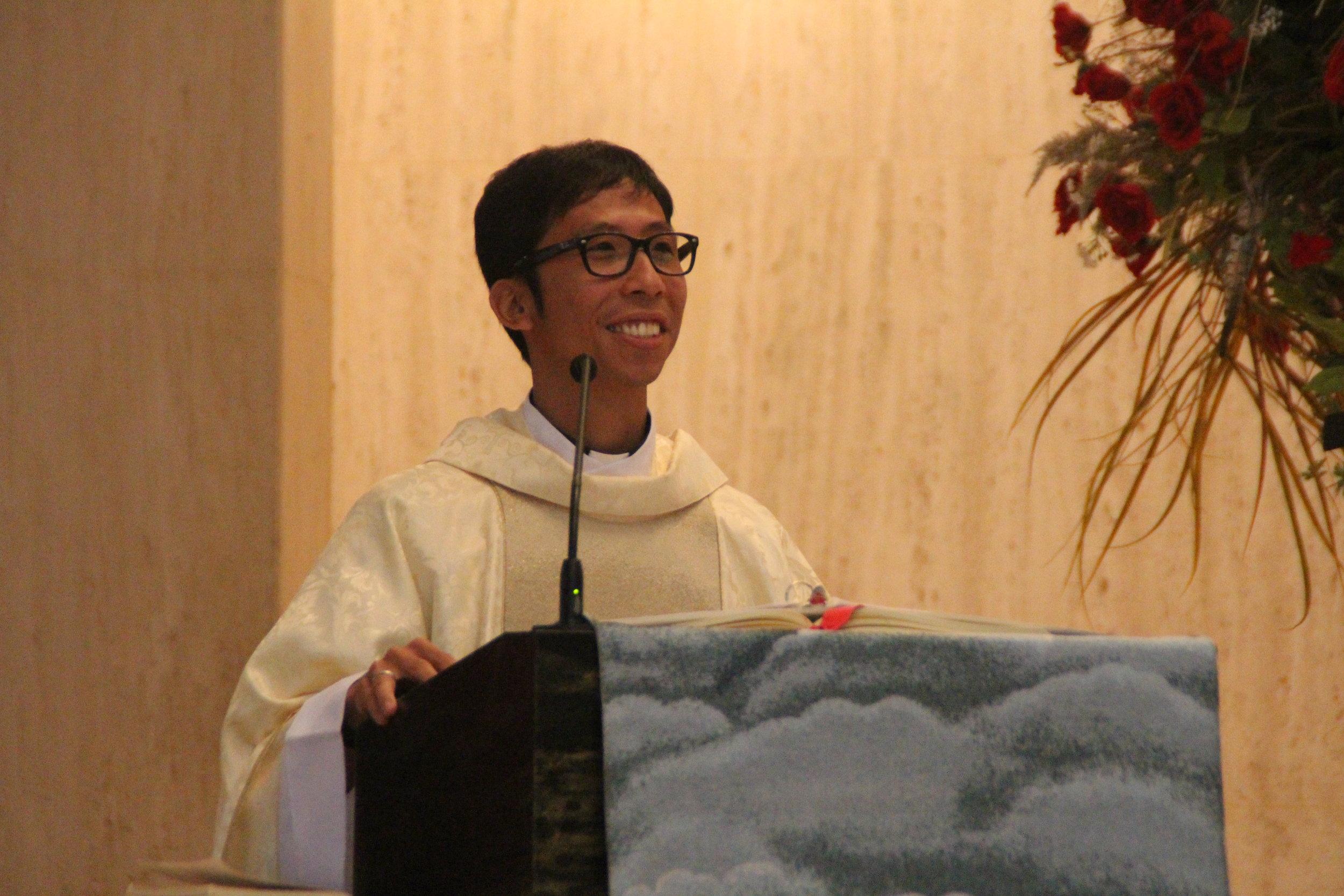 Fr. Richie Mercado, O.S.A.