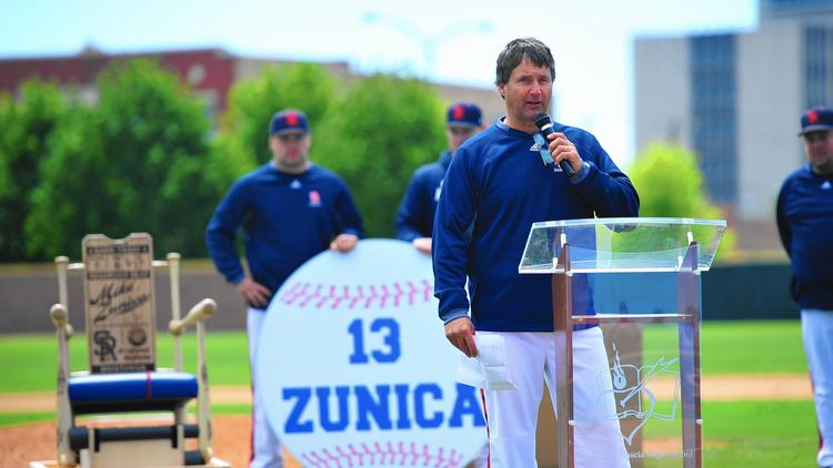 St. Rita Head Baseball Coach Mike Zunica / Photo: Gary Middendorf / Daily Southtown