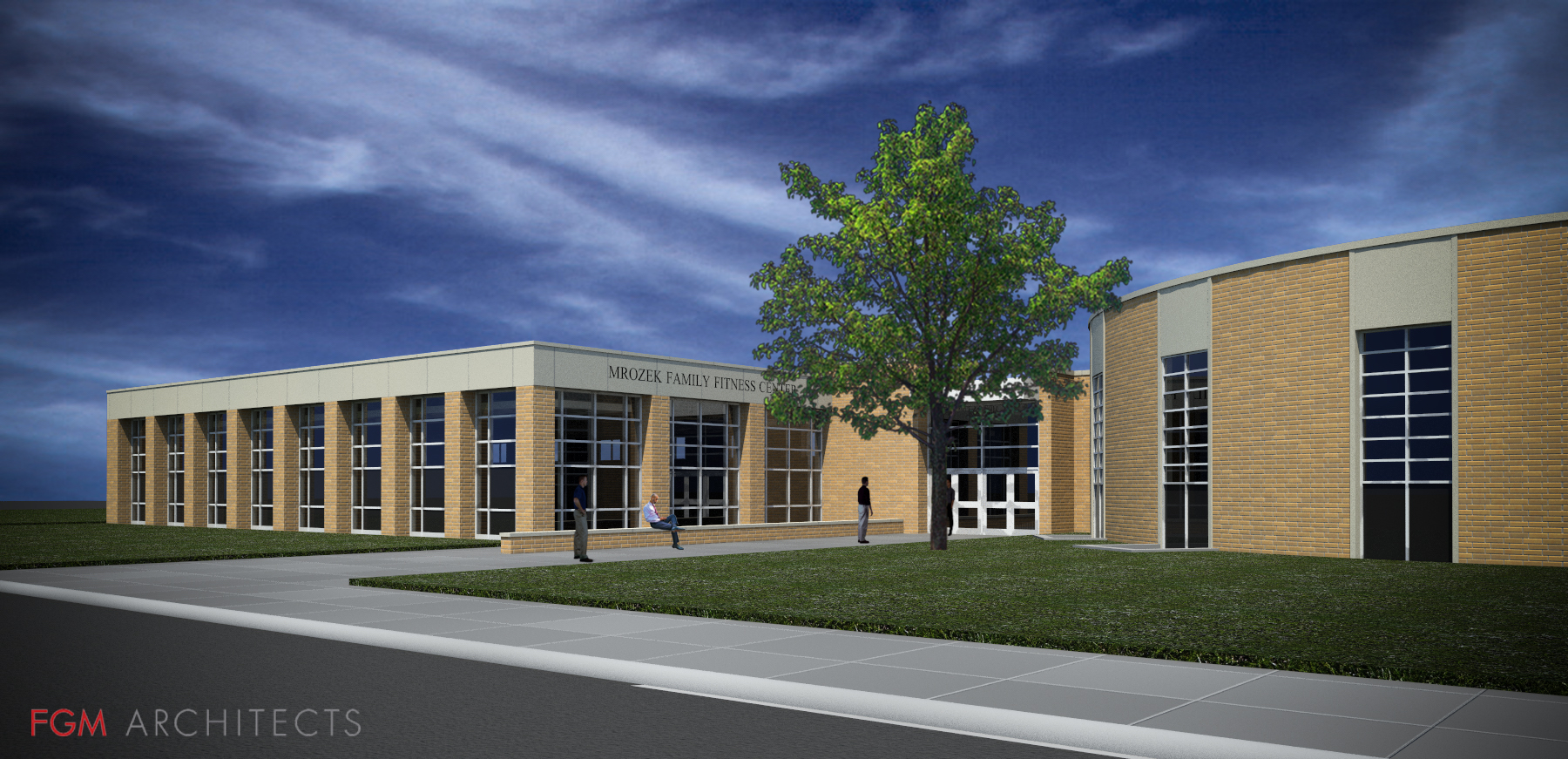 St. Rita High School's Mrozek Family Fitness Center