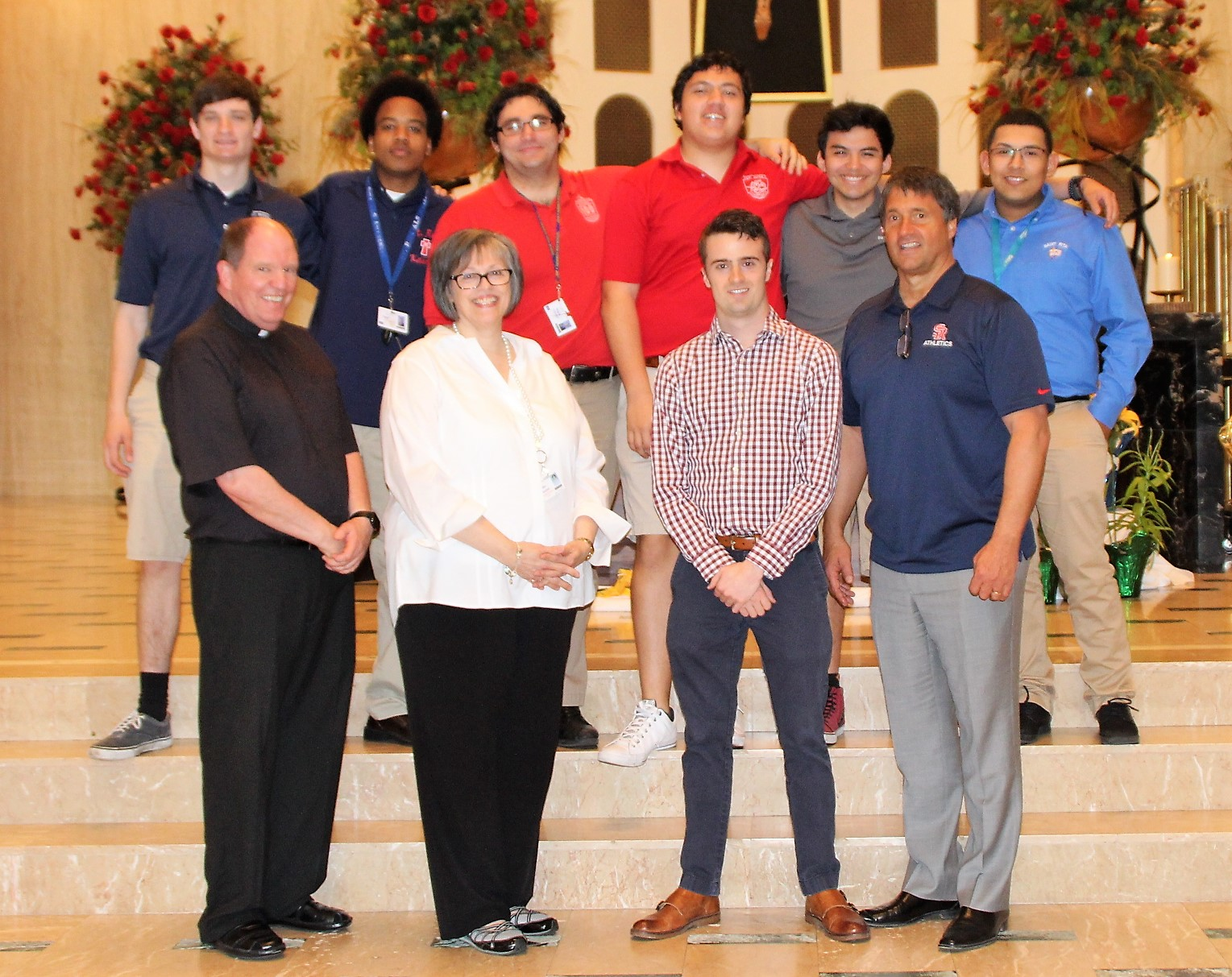 Fine Arts Recognition Award is presented for exceptional performance in the visual arts at St. Rita of Cascia High School during one's high school career. The Visual Arts Award went to:Dan Villegas.  The award for exceptional performance in the musical arts was presented to:Leo Hennessey,JP Hernandez,Stephen Luster,Nick Schultz,Jon Carlo Soriano.