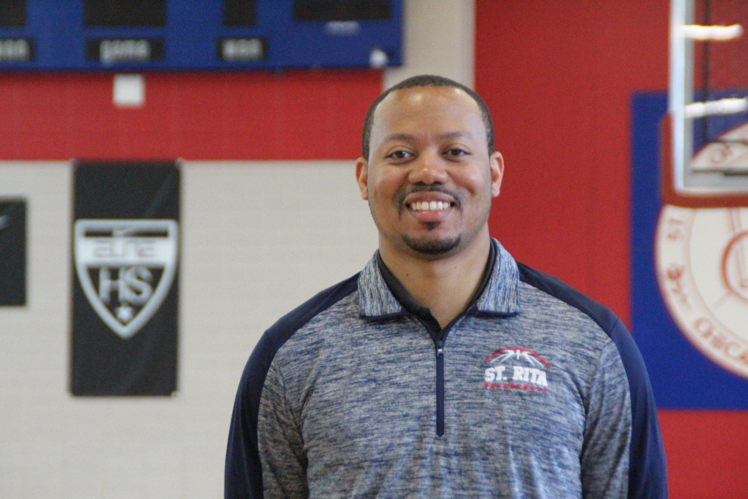 Roshawn Russell '08, St. Rita Head Basketball Coach