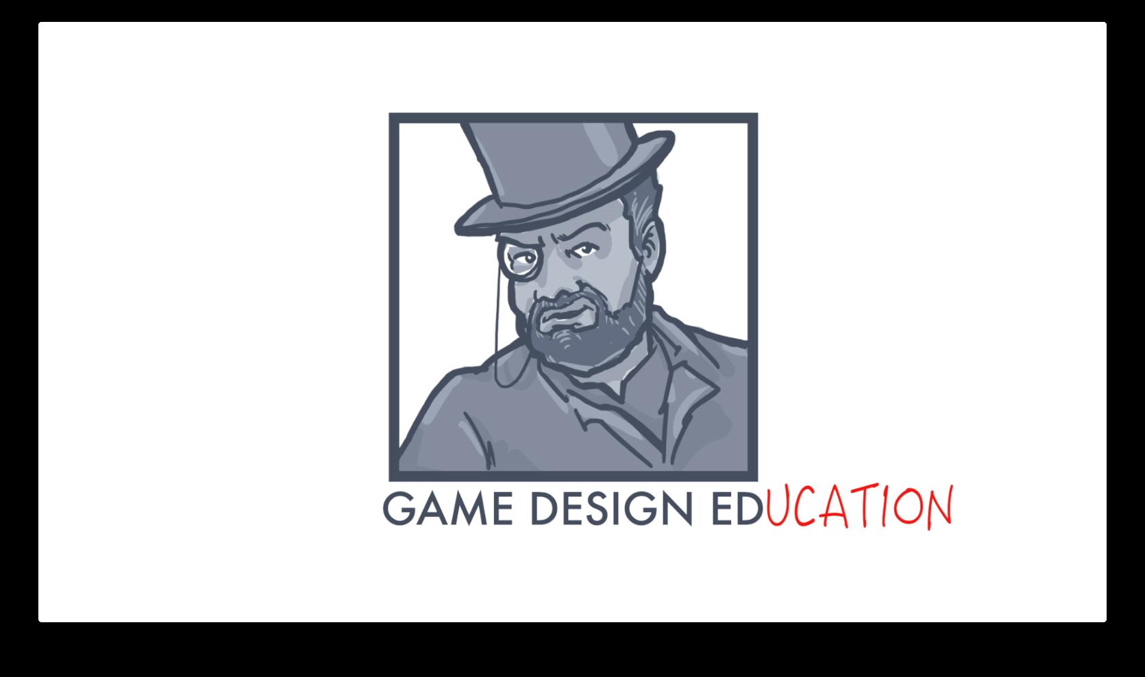 GameDesignEducation