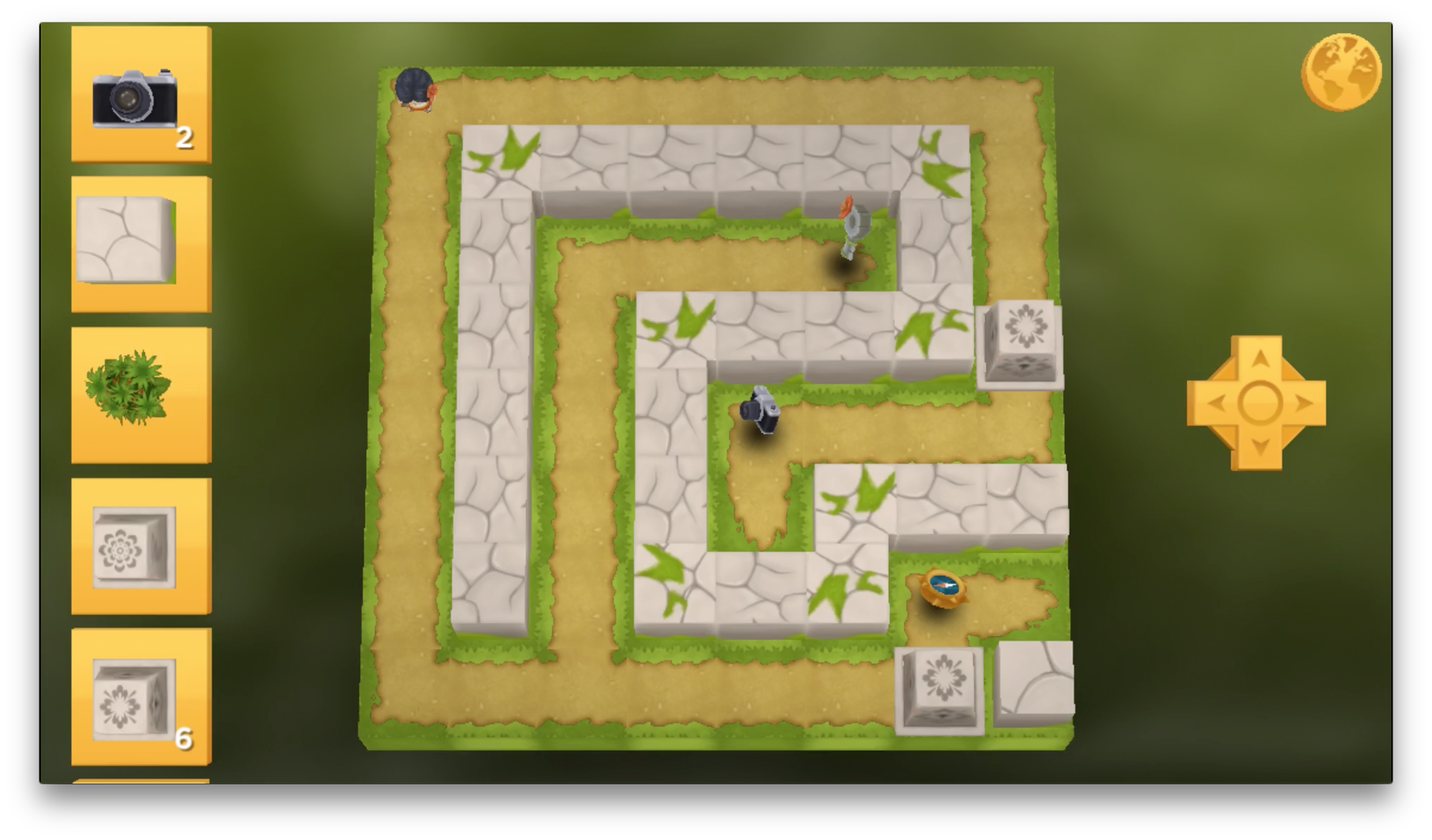 The general layout of the puzzle