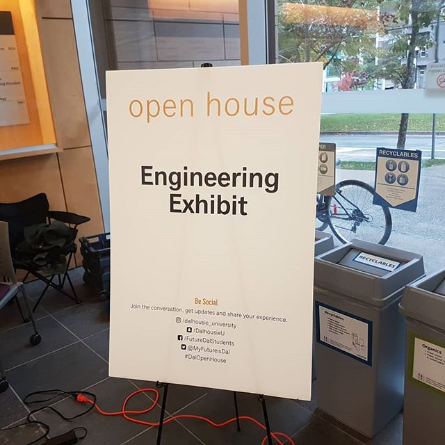 We had a great time representing the FSAE team at the @dalhousie_university open house! We met a lot of fantastic people who we look forward to seeing again next year. We are always looking for tomorrow's great leaders.  #hondamotorcycles #dalhousie #racecars #fsae #novascotia #halifax #canada #engineeringlife #engineeringlife #formula1 #wec #formulae