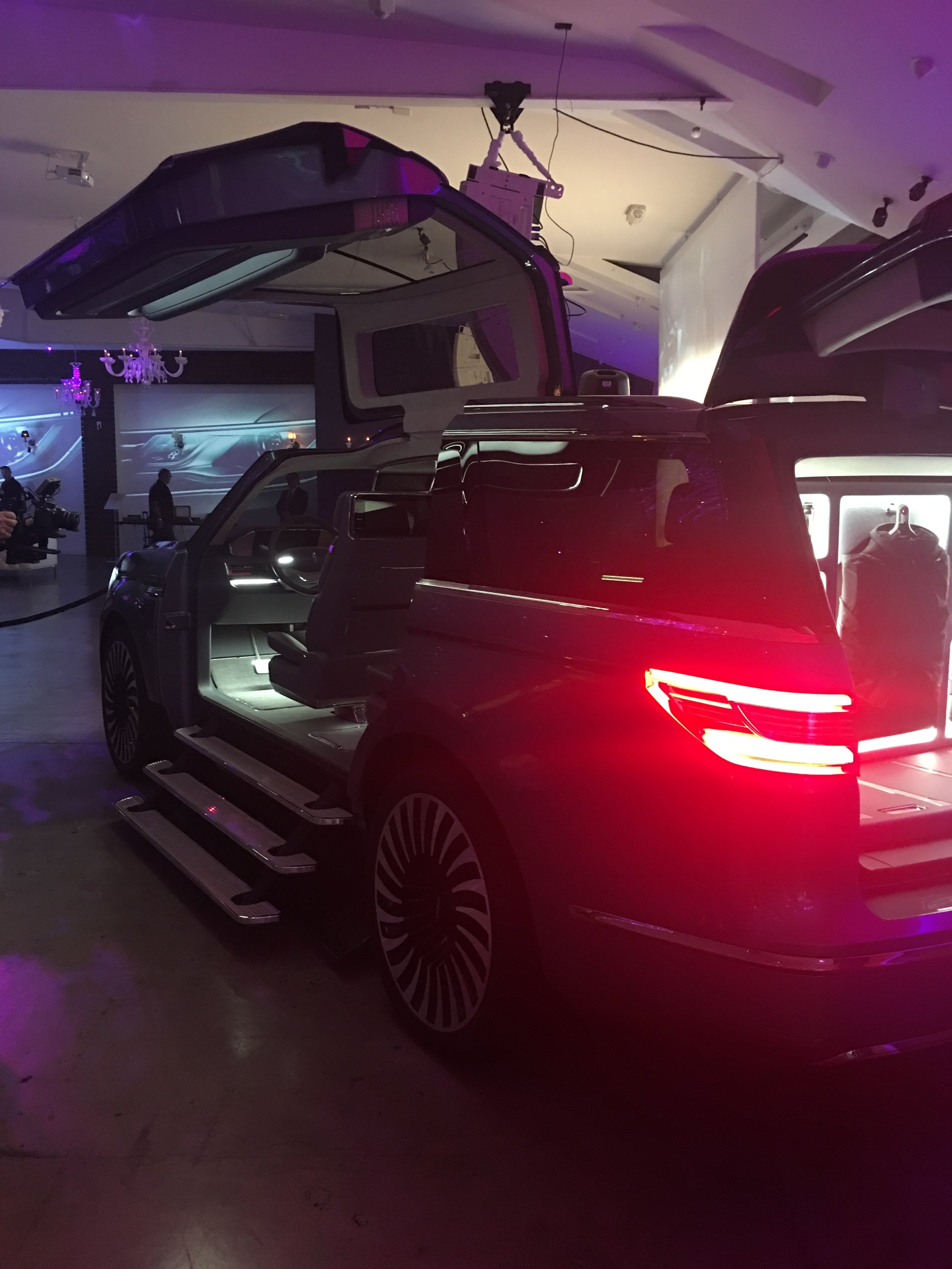 Lincoln Motor Company Showing Event