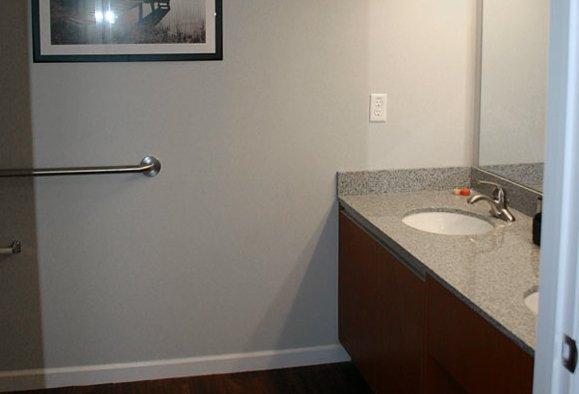 Student Housing Bathroom