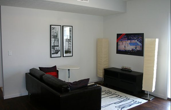 Student Housing Living Room