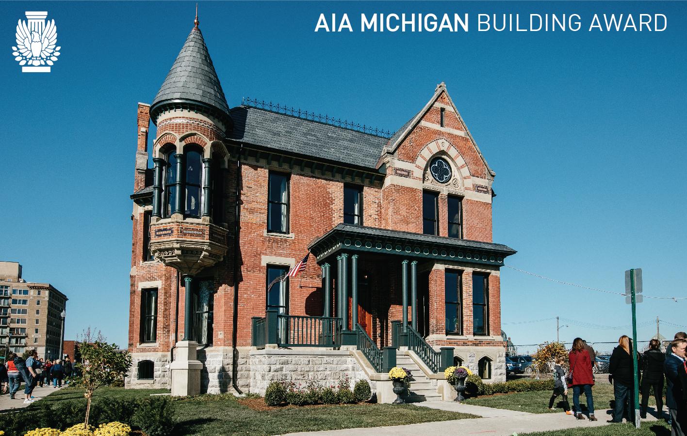 Ransom GIlls House Detroit AIA Award