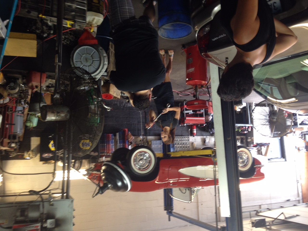 Behind the scenes shooting an ad for Dymax with the Mascola Group
