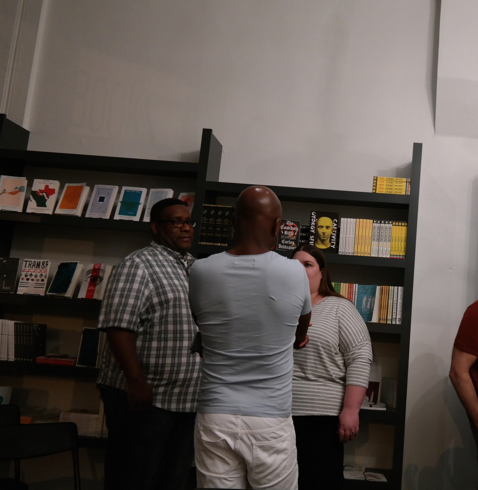 Lots of discussions after the readings