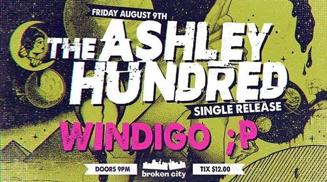 This friday with our bbs @theashleyhundred and winky P!!! At @thebrokencity !!