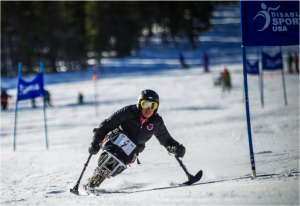 Sarah Holm doesn't instantly bring to mind the mental image of a ski racer. The soft-spoken 20-year-old admittedly enjoys the camaraderie of her team and the support from those in the industry more than she necessarily thrives on competition.