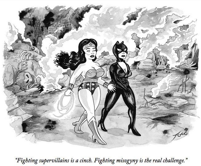 Cartoon by Tom Toro, published In the New Yorker 2015