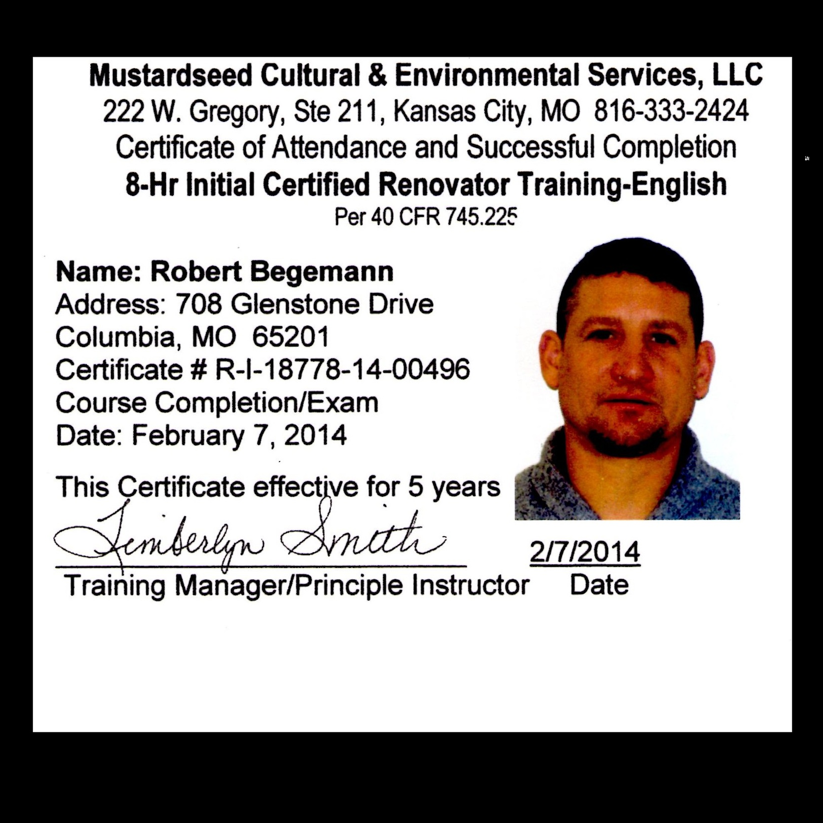Let someone certified handle all of your lead needs!