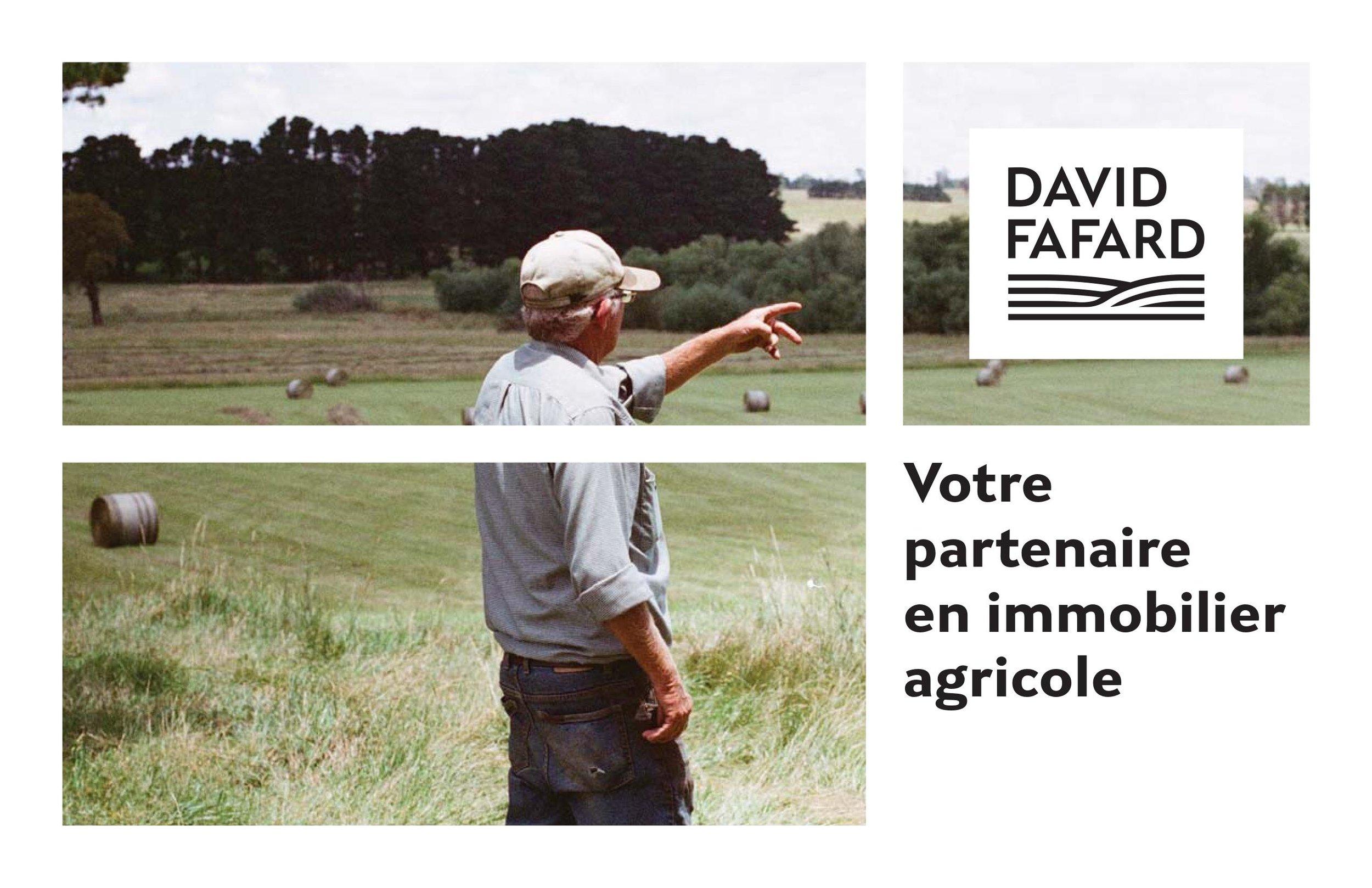 david fafard votre partenaire en immobilier agricole au québec