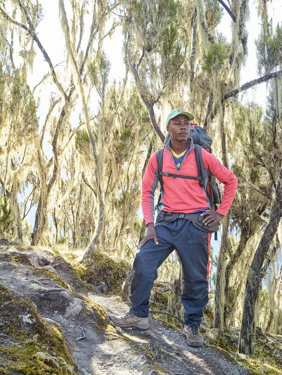 Jackson Mtui, Umbwe Route