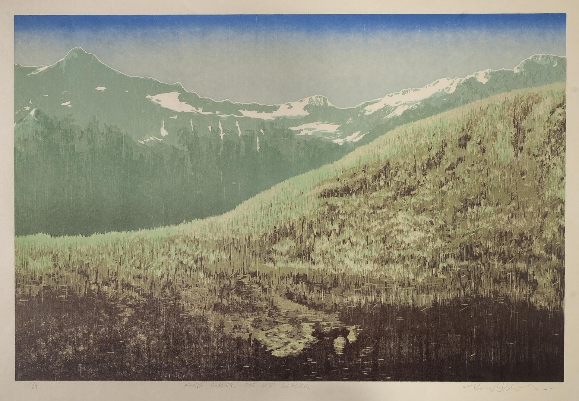 Kintla Glacier