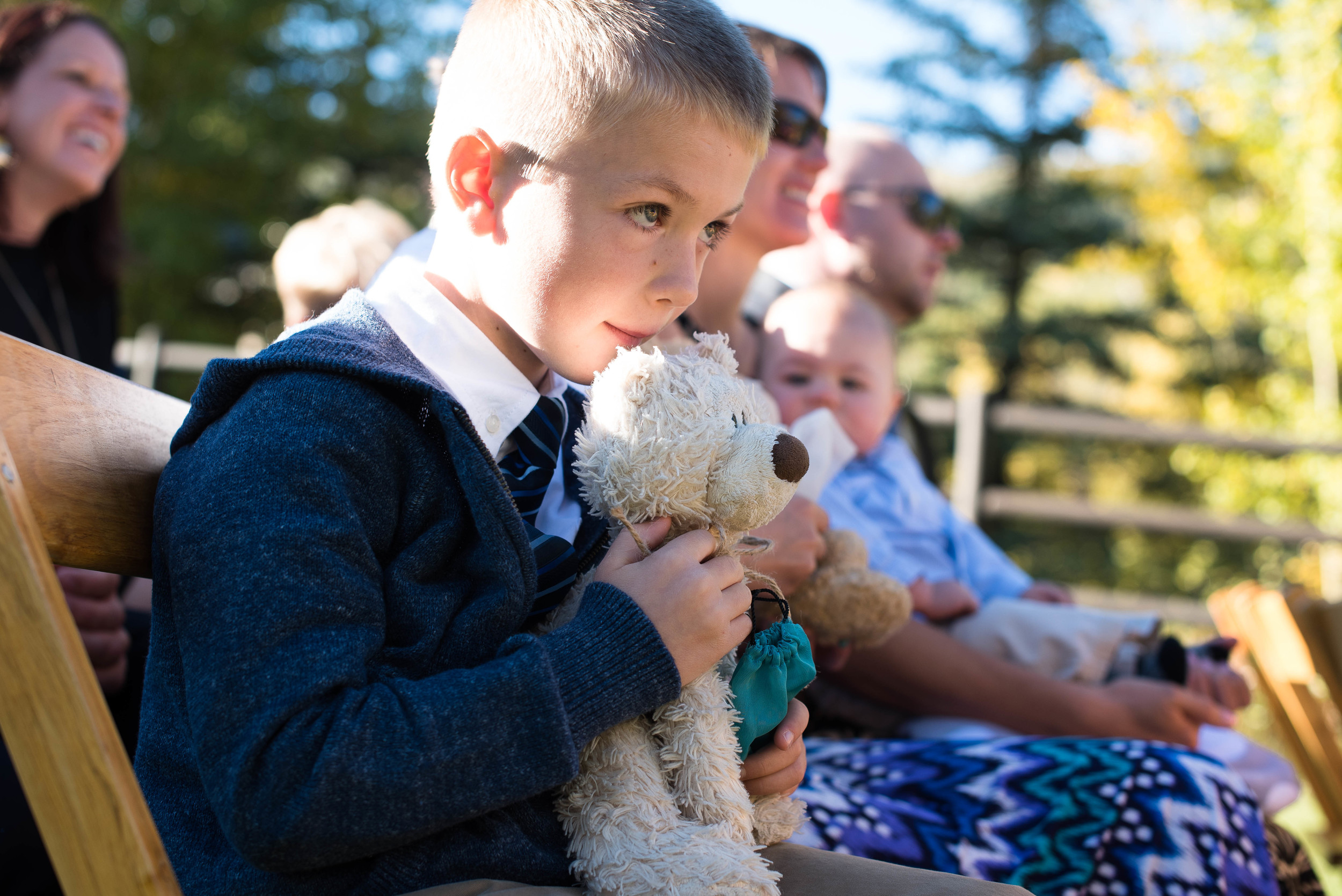 The event was peppered with nods to Teghan's favorite animal, the bear.