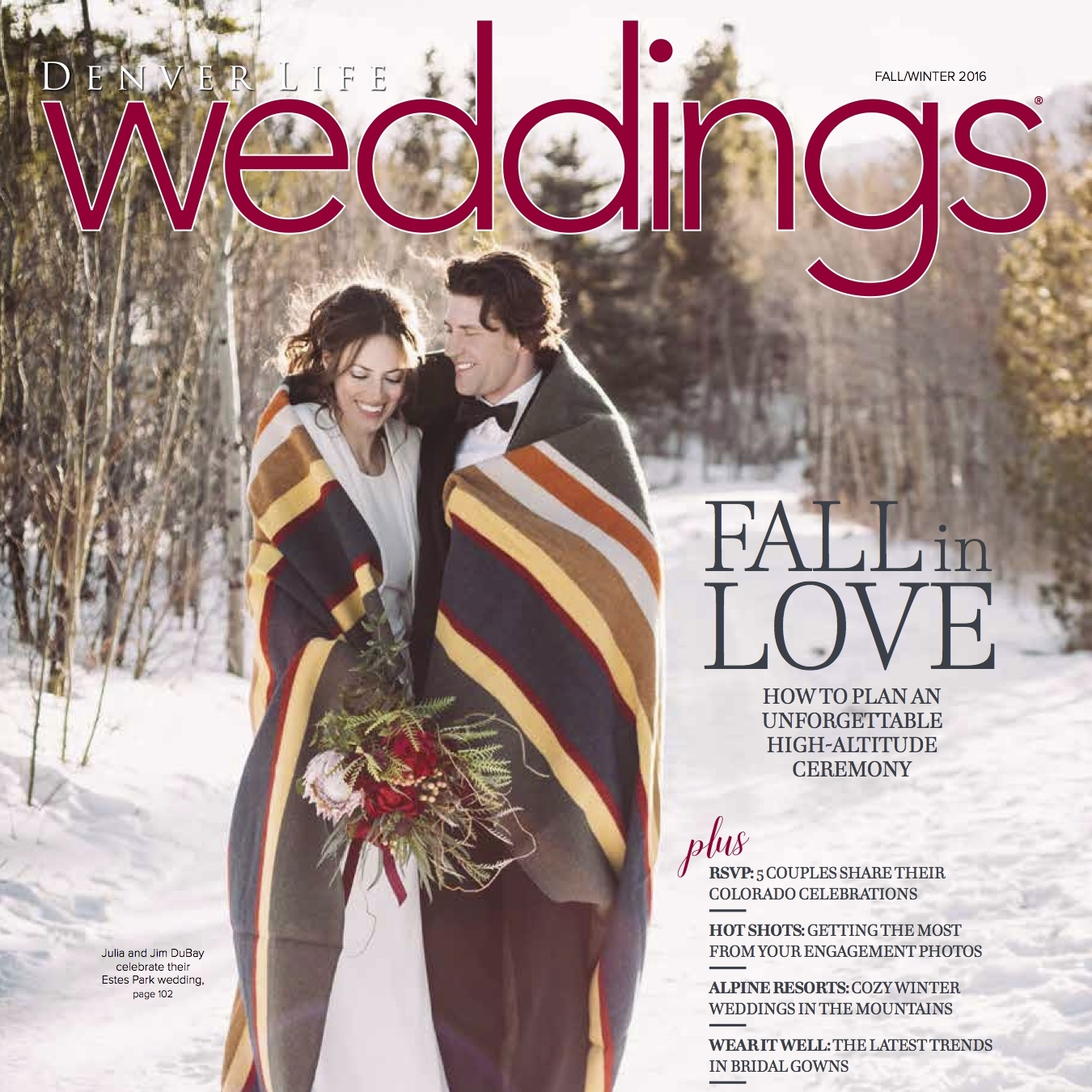 In the Press: Denver Life Weddings
