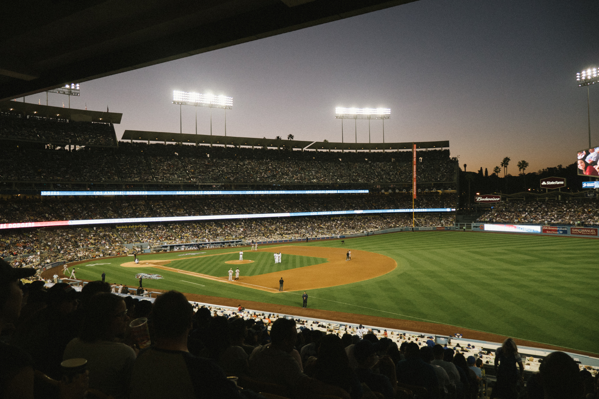 Pitching Change / Dodger Stadium