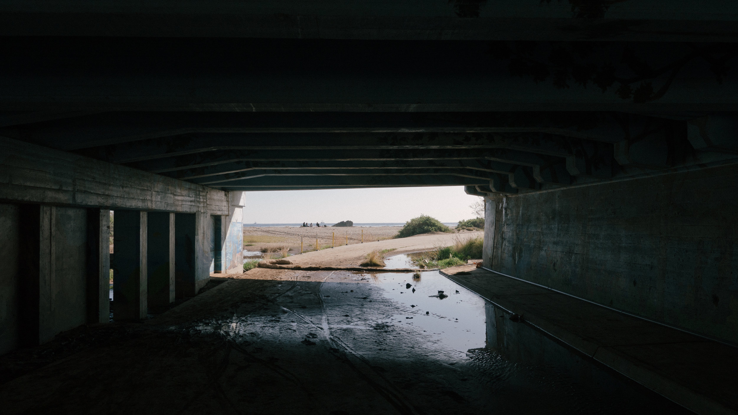 The Tunnel to the Pacific Ocean