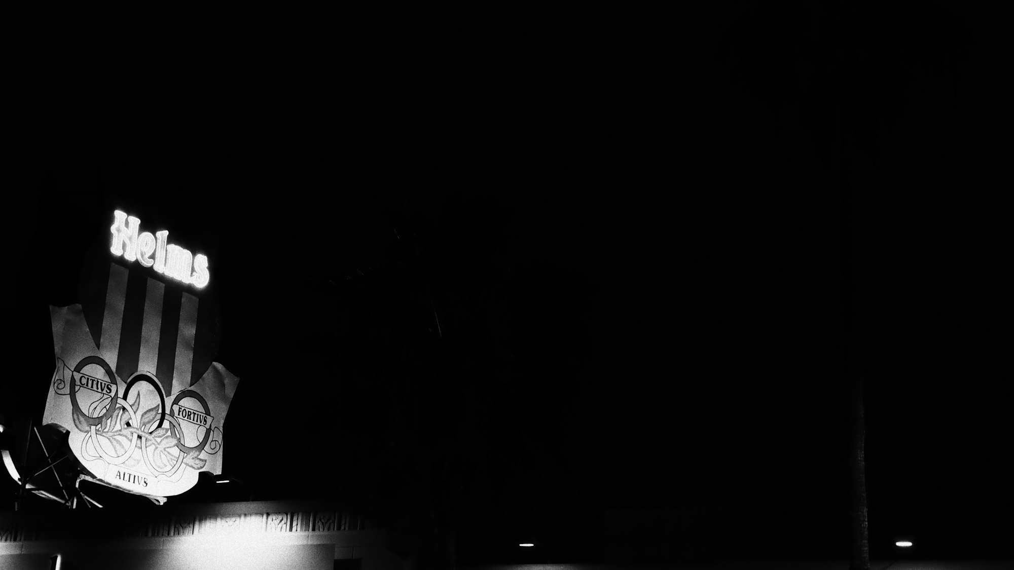 Helms at Night