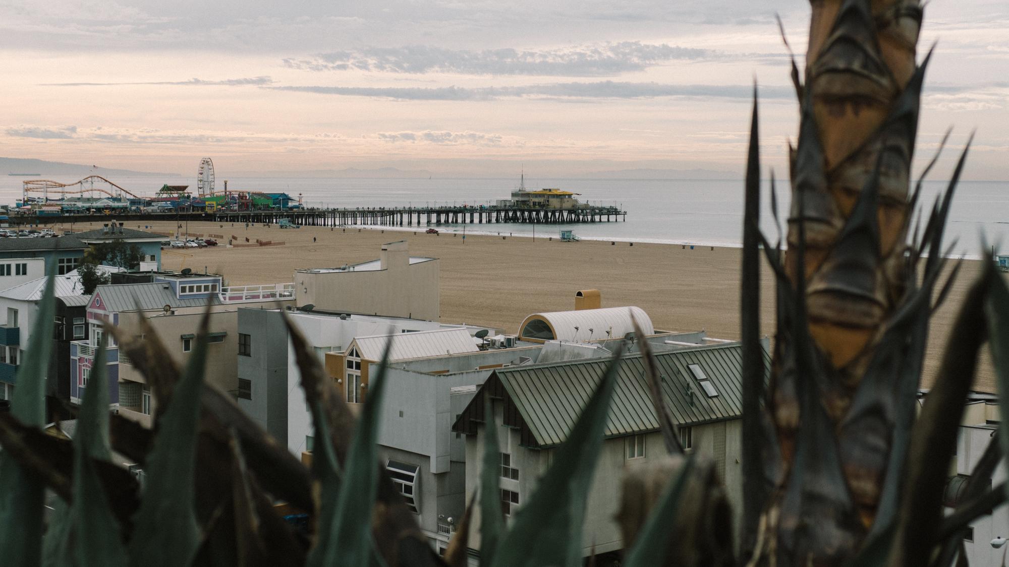 Santa Monica Pier - Morning