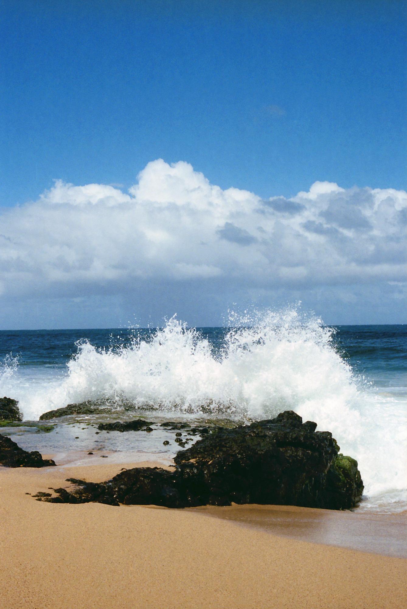 Secret Beach Crash