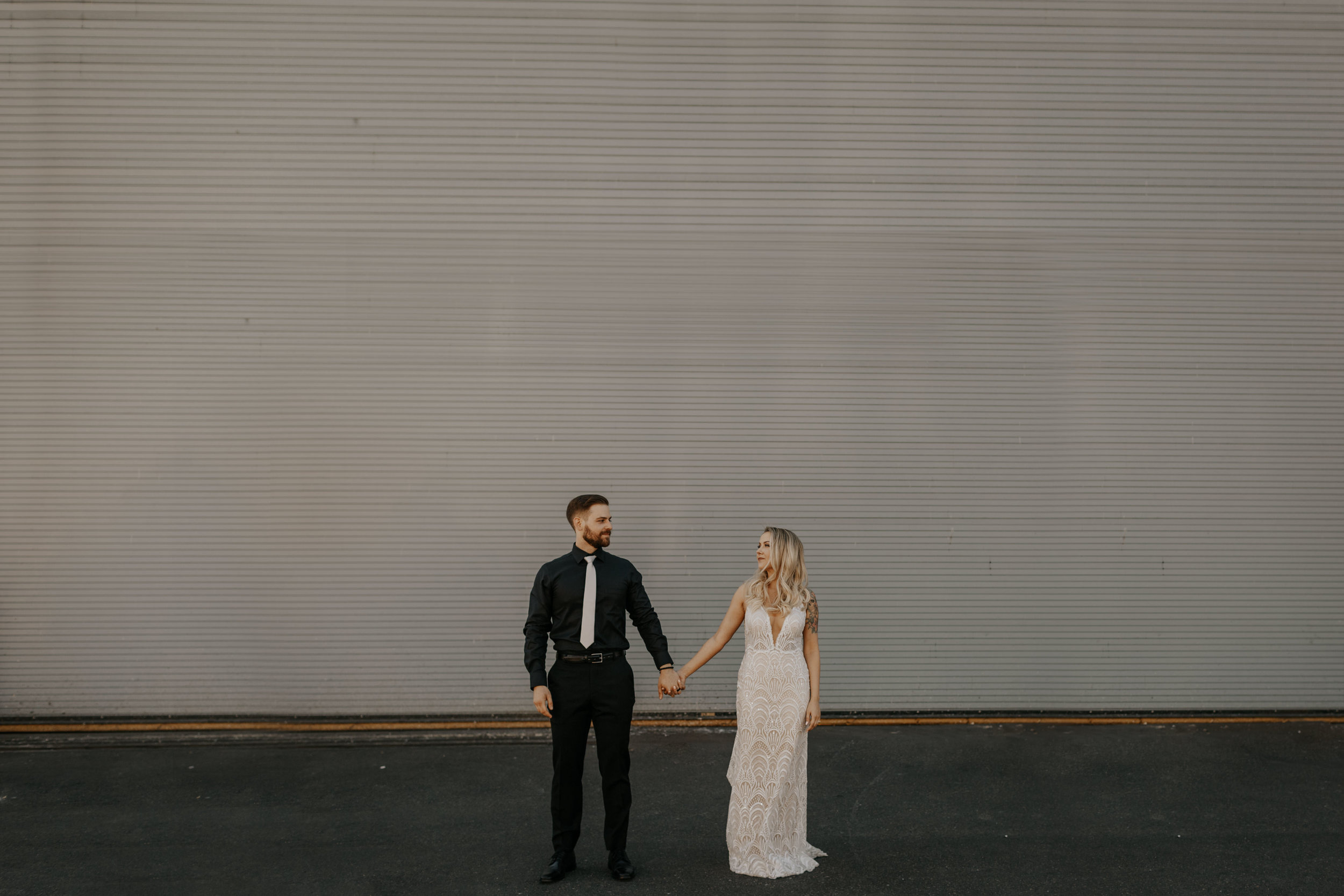 Cody + Brittney  Within Sodo Seattle Rooftop Wedding