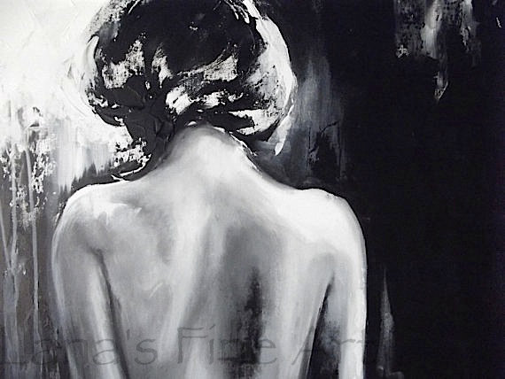 original nude figure painting by lanasfineart on etsy