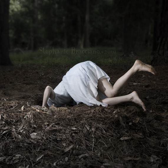Down the Rabbit Hole by  Stephanie Bracciano  on  etsy