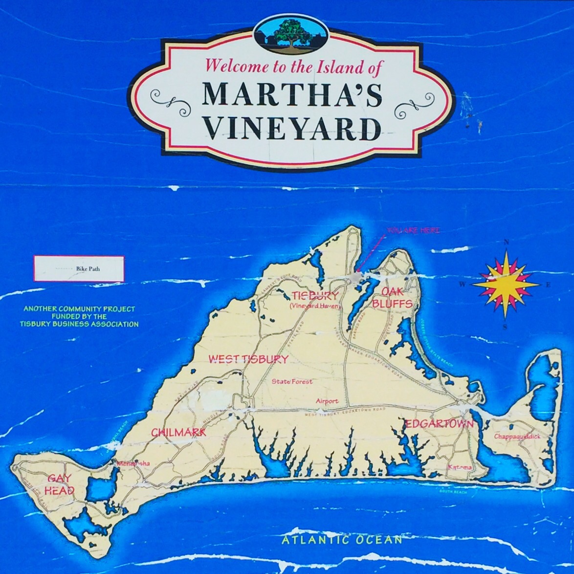 A map of the island.