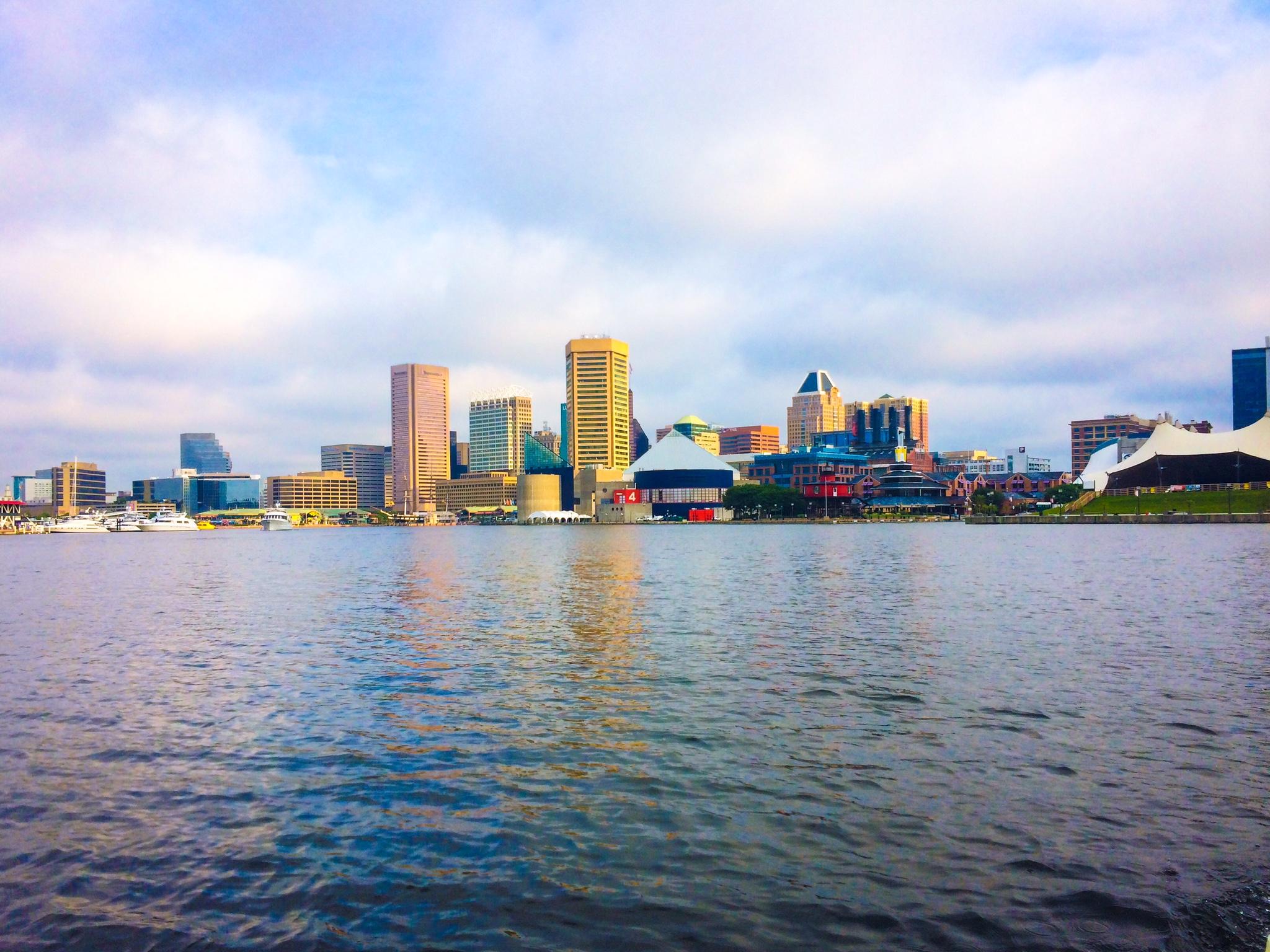 Baltimore Harbor, taken by Sarah