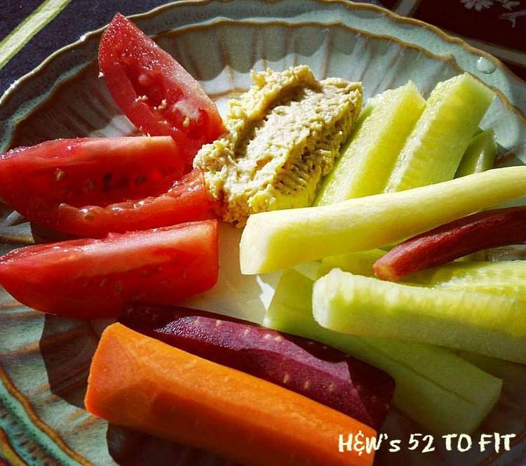 Quick and healthy snack...filling and low in calories