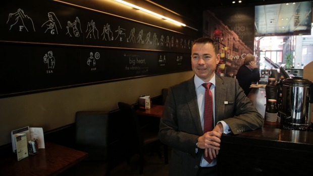 CQ Hotels Wellington general manager Olivier Lacoua says business has been thriving since it introduced New Zealand sign language in the CQ Restaurant.