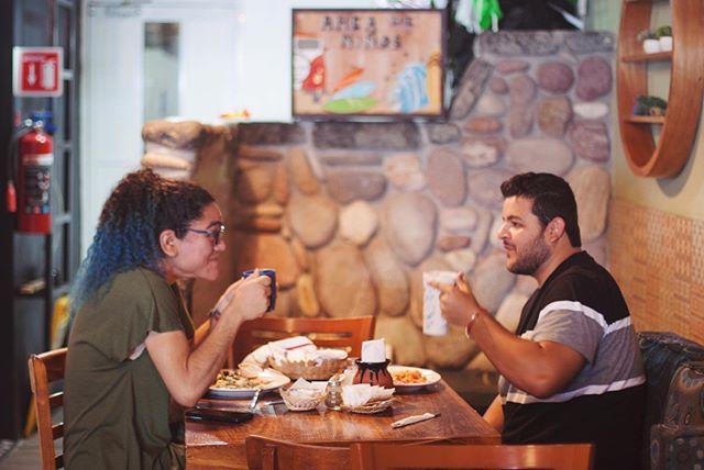 Desayunar con amigos = mañana perfecta ☕️☀️
