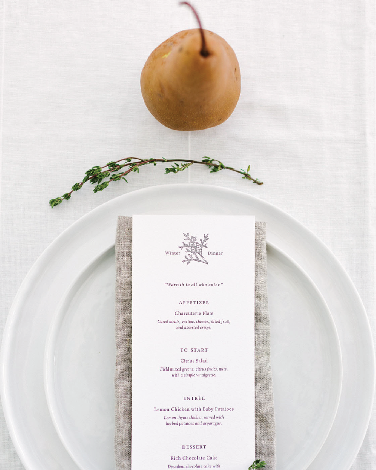 Flower & Fig  | Print Design   Flower & Fig is all about empowering the everyday hostess by providing planning kits & resources for creating beautiful gatherings that cultivate community and life giving conversations.