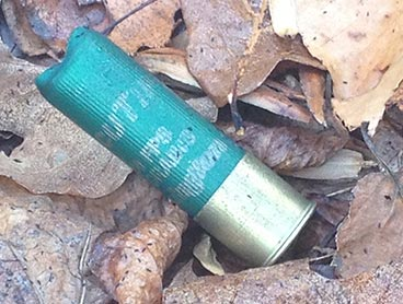 Shotgun Shell we found at kill site.